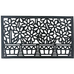 Rubber-Cal &#39;Bountiful Summer&#39; Rubber Cast Iron Door Mat (18 x 30)