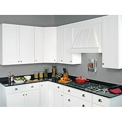 Base Painted White 36 x 34.5 in.  Easy Reach Cabinet