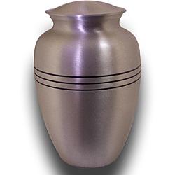 Star Legacy Large Brushed Pewter Pet Urn