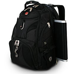 Wenger Swiss Gear Black ScanSmart 17.5-inch Laptop Backpack