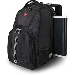 Wenger Swiss Gear Black ScanSmart 17-inch Laptop Backpack