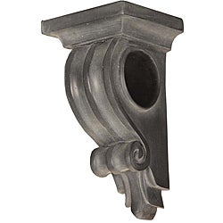 Menagerie Bella Noir Ribbed Drapery Sconce