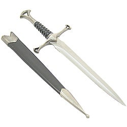 Defender 13-inch Collectible Mongolian Sword Dagger with Sheath