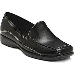 A2 by Aerosoles Women's 'Adrenaline' Black Loafers