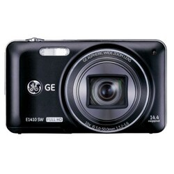 GE E1410SW 14MP Black Digital Camera