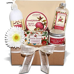 Lauren Nichole Pomegranate Beauty and Bath Gift Tray