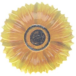 Certified International 'Tuscan Sunflower' 15.5-inch 3D Platter