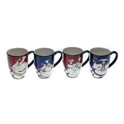 Certified International Chef de Cuisine 20-ounce Mugs (Set of 4)