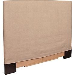 Full/ Queen-size Sand Slip Covered Headboard