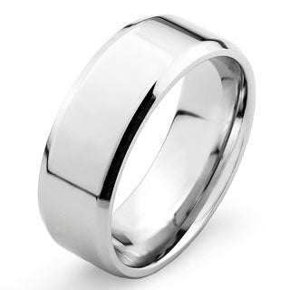 Stainless Steel Flat Band Ring
