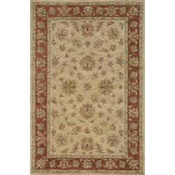 Hand-tufted Goa Gold Wool Rug (8' x 10')