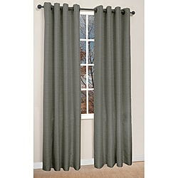 Famous Home Fashions Victoria Charcoal 84-inch Curtain Panels