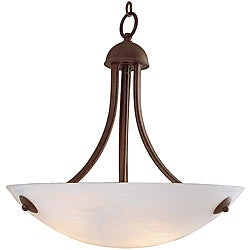 Aspire Rust Finish 3-light Pendant