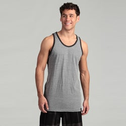 Burnside Men's Heather Grey Knit Tank