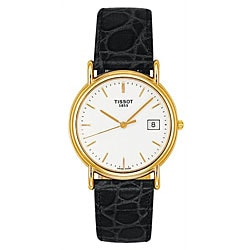 Tissot Men's Carson 18k Gold Quartz Watch