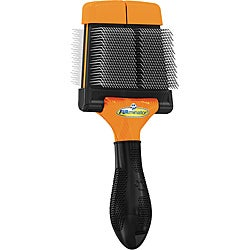 Furminator Blaze Orange Pet Slicker Brush