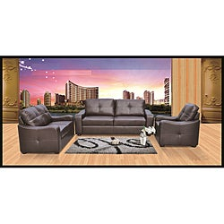 Dashing Brown Sofa Set