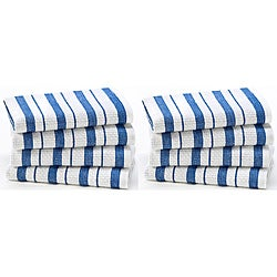 Celebration 8-piece Stripe Kitchen Oversized Dish Cloth Set
