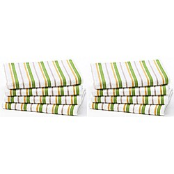 Celebration 8-piece Stripe Kitchen Oversized Towel Set