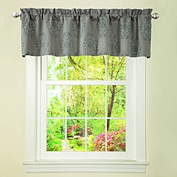 Lush Decor Grey Empire Valance