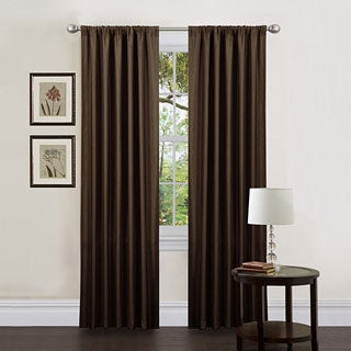Lush Decor Brown 84-inch Luis Curtain Panels (Set of 2)
