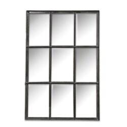 9-Panel Wall Mirror