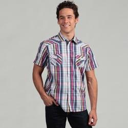 The Fresh Brand Men's Plaid Woven Shirt