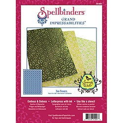 Spellbinders Grand Impressabilities 'Sea Flowers' Embossing Die Stencil