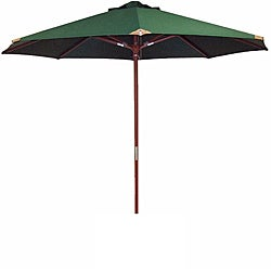 Lauren & Co Ultra Premium Spun Poly Hunter Green Market Umbrella