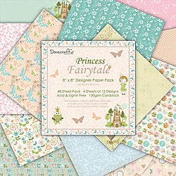 Princess Fairytale Designer Paper Pack