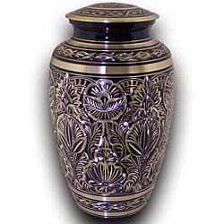 Star Legacy 'Majestic Radiance' Large Adult Brass Urn with Velvet Box
