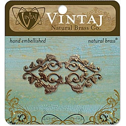 Vintaj Deco Vines Filigree Metal Accent Embellishment