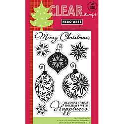 Hero Arts Decorate Your Holidays Clear Stamps