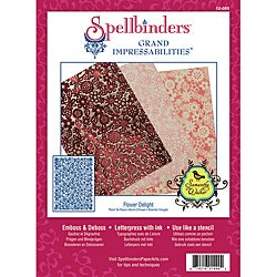 Spellbinders Grand Impressabilities 'Flower Delight' Die
