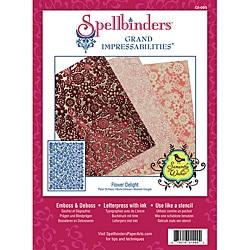 Spellbinders Grand Impressabilities 'Flower Delight' Die