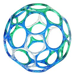 Rhino Toys 4-Inch Oball Jellies in Green and Blue