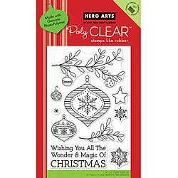 Hero Arts 'Magic Of Christmas' Clear Stamps