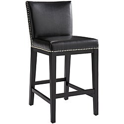 Sunpan Vintage Bonded Leather Counter Stool