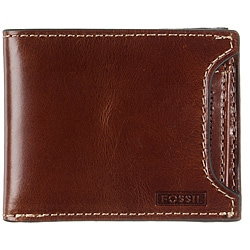 Fossil Men's 'Aidan' 2-in-1 Leather Wallet