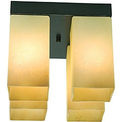 Access Turin 4-light Oil-rubbed Bronze Flush Mount