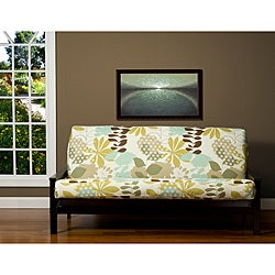 English Garden Floral 7-inch Deep Full-size Futon Cover