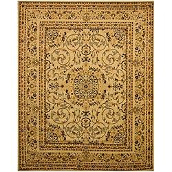 Ivory Esfahan Rug (8'2 x 9'10)