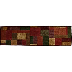 Celeste 1 Multi Blocks Rug (2' x 8')