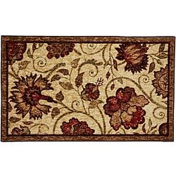 Mohawk Home Krause Beige Floral Rug (2'6 x 4'2)