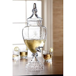 Fifth Avenue Crystal Beverage Dispenser