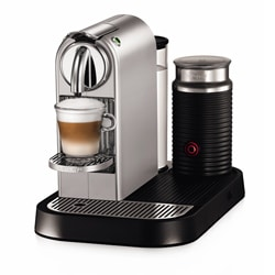Nespresso Silver CitiZ & Milk Espresso Machine  (Refurbished)