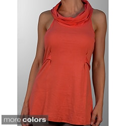 A to Z Women's Cowl Neck Sleeveless Top