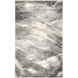 Safavieh Deco Inspired Grey/ Ivory Rug (5' x 8')