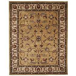 Hand-tufted Tempest Ivory Area Rug (8 x 10)