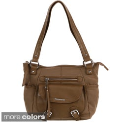 Stone Mountain Savannah Leather Hobo Bag